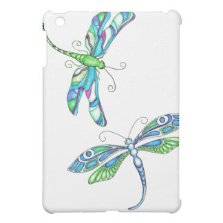 Whimsical Dragonflies iPad Mini Cover