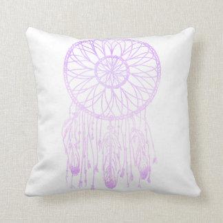 Whimsical Dream Catcher Lavender Watercolor Cushion