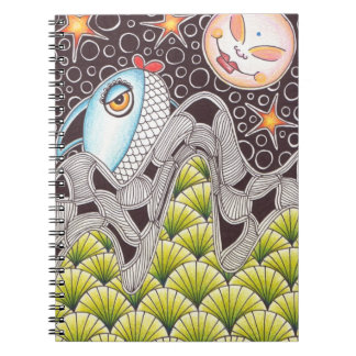 Whimsical Fish Notebook