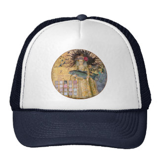 Whimsical Fish Pisces Woman Gothic Cap