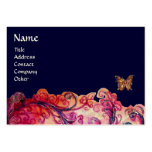 WHIMSICAL FLOURISHES bright red ,pink purple blue