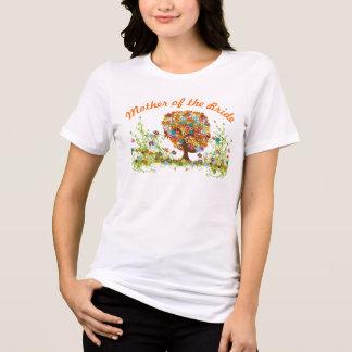 Whimsical Flower Tree Wedding T-shirts