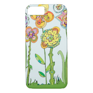 Whimsical Flowers Phone Case