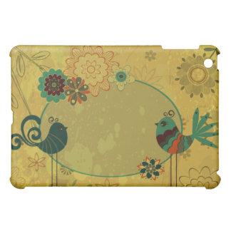 Whimsical Folk Art Bird - Customize Template iPad Mini Covers