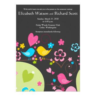 Whimsical Garden wedding invitation