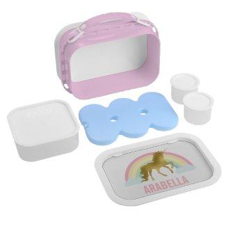 Unicorn Girl's Lunch Box