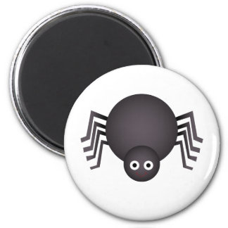 Whimsical Halloween spider Magnets