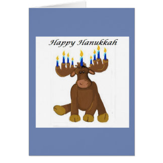 Whimsical Hanukkah Design Card