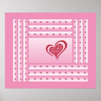 Whimsical Heart 3 Poster