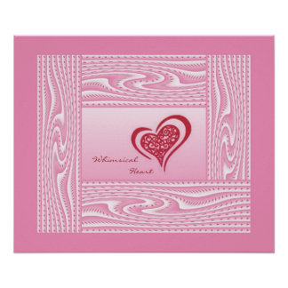 Whimsical Heart #6 Posters