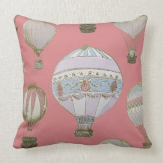Whimsical Hot Air Balloon - Duchess Pink
