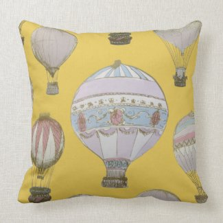 Whimsical Hot Air Balloon - Emperor Yellow