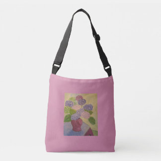 Whimsical Hydrangeas Crossbody Bag
