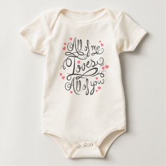 Whimsical Inspirational Love Quote | Bodysuit
