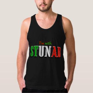Whimsical Italian Humor Design For Dark Background Tank Top
