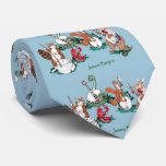 Whimsical Jammin Banjos Musical Tie