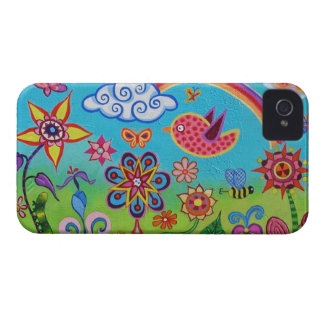 Whimsical Landscape iPhone 4 Case by Case-Mate