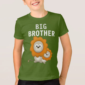 Whimsical Lion on Kids' Jersey T-Shirt