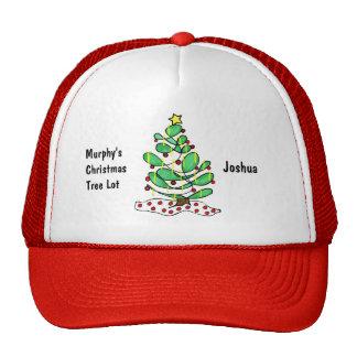 Whimsical Little Christmas Tree Cap