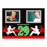 Whimsical Mafia Style 30th Birthday Party Invite 13 Cm X 18 Cm Invitation Card
