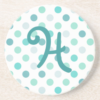 Whimsical Monogram stone Coaster