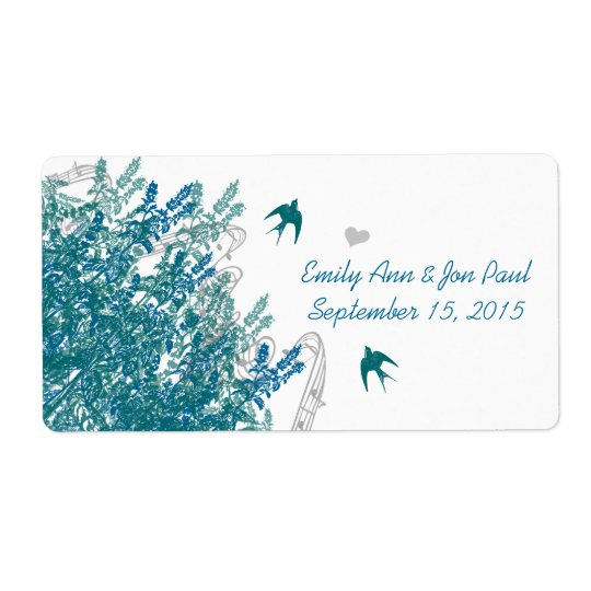 Whimsical Musical Vintage Birds Save the Date