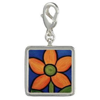 Whimsical Orange Flower