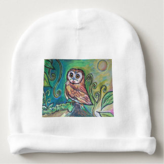 Whimsical Owl Baby Hat Baby Beanie