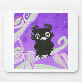 Whimsical Owl By Artist Cherish Fletcher Mouse Pad