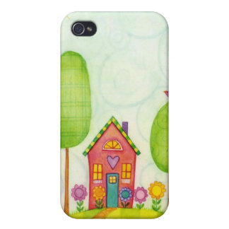 whimsical painting iPhone 4/4S covers