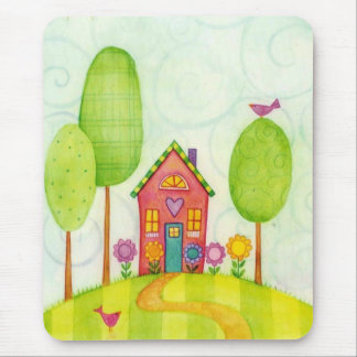 whimsical painting mousepads