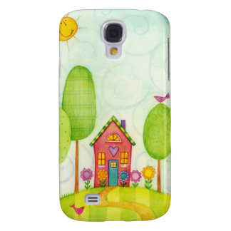 whimsical painting samsung galaxy s4 case