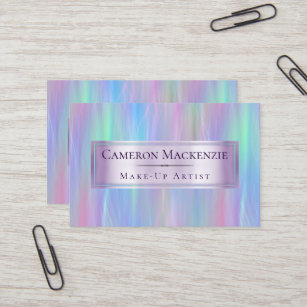 Iridescent business cards business card printing zazzle uk whimsical pastel rainbow trendy iridescent modern business card colourmoves