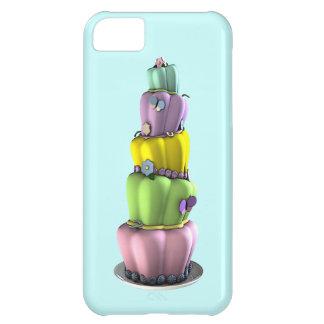 Whimsical Pastel Topsy Turvy Cake iPhone 5C Case