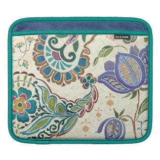 Whimsical Peacock iPad Sleeve
