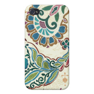 Whimsical Peacock iPhone 4/4S Cover
