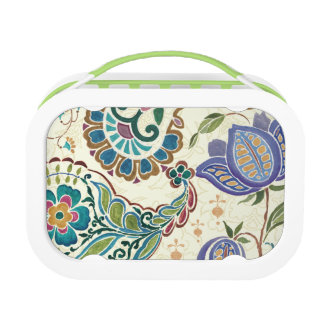 Whimsical Peacock Lunch Box