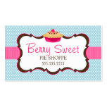 Whimsical Pie Bakery Business Cards