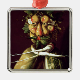 Whimsical Portrait Christmas Ornament