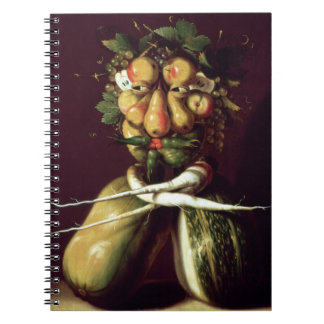 Whimsical Portrait Notebook