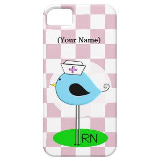 Whimsical Registered Nurse Bird iPhone 5 Case