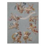 Whimsical Renaissance Cherub Angels Post Cards