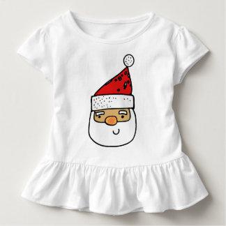 Whimsical Santa Claus Trendy Humorous Modern Toddler T-Shirt