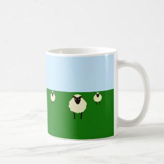 Whimsical Sheep Mug