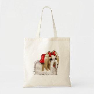 whimsical SHIH TZU DOG