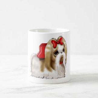 whimsical SHIH TZU DOG Coffee Mug