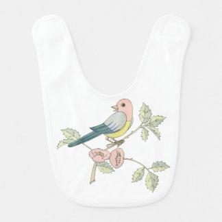 Whimsical Singing Bird by Tom Seidmann Freud Bib