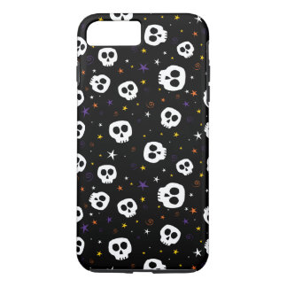 Whimsical Skull Print Phone Case