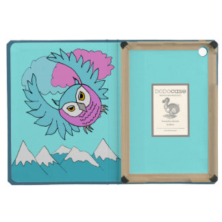 whimsical sky owl iPad Mini Dodo case iPad Mini Retina Cover