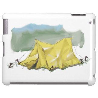 Whimsical Tent Illustration Tablet Case